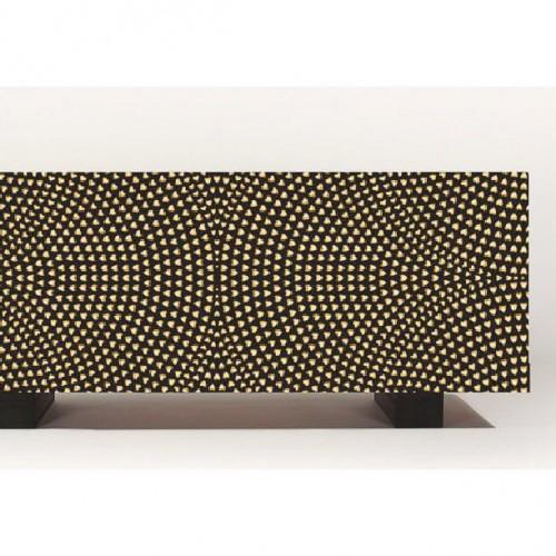 Mueble Ikea Besta con puertas studed print